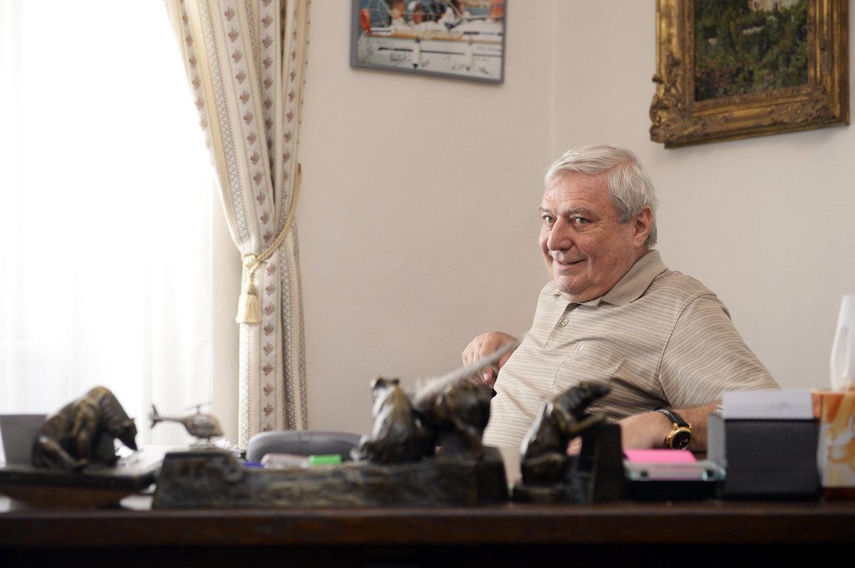 Lobbista Miroslav Šlouf v kanceláři