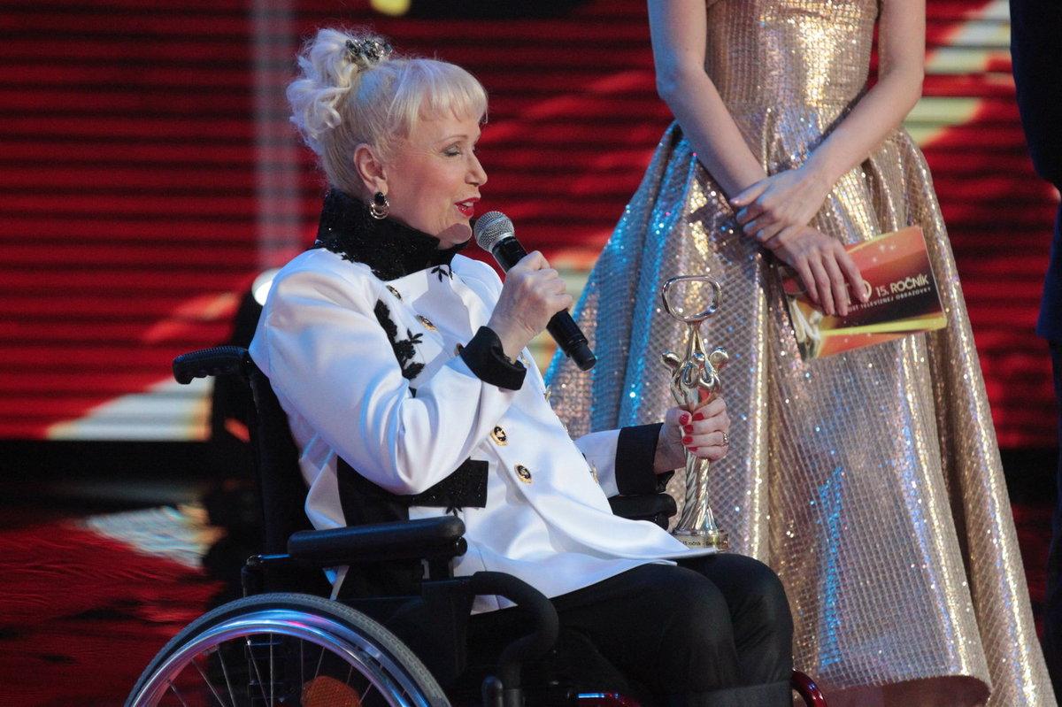 Zpěvačka Marika Gombitová byla uvedena do Síně slávy OTO.