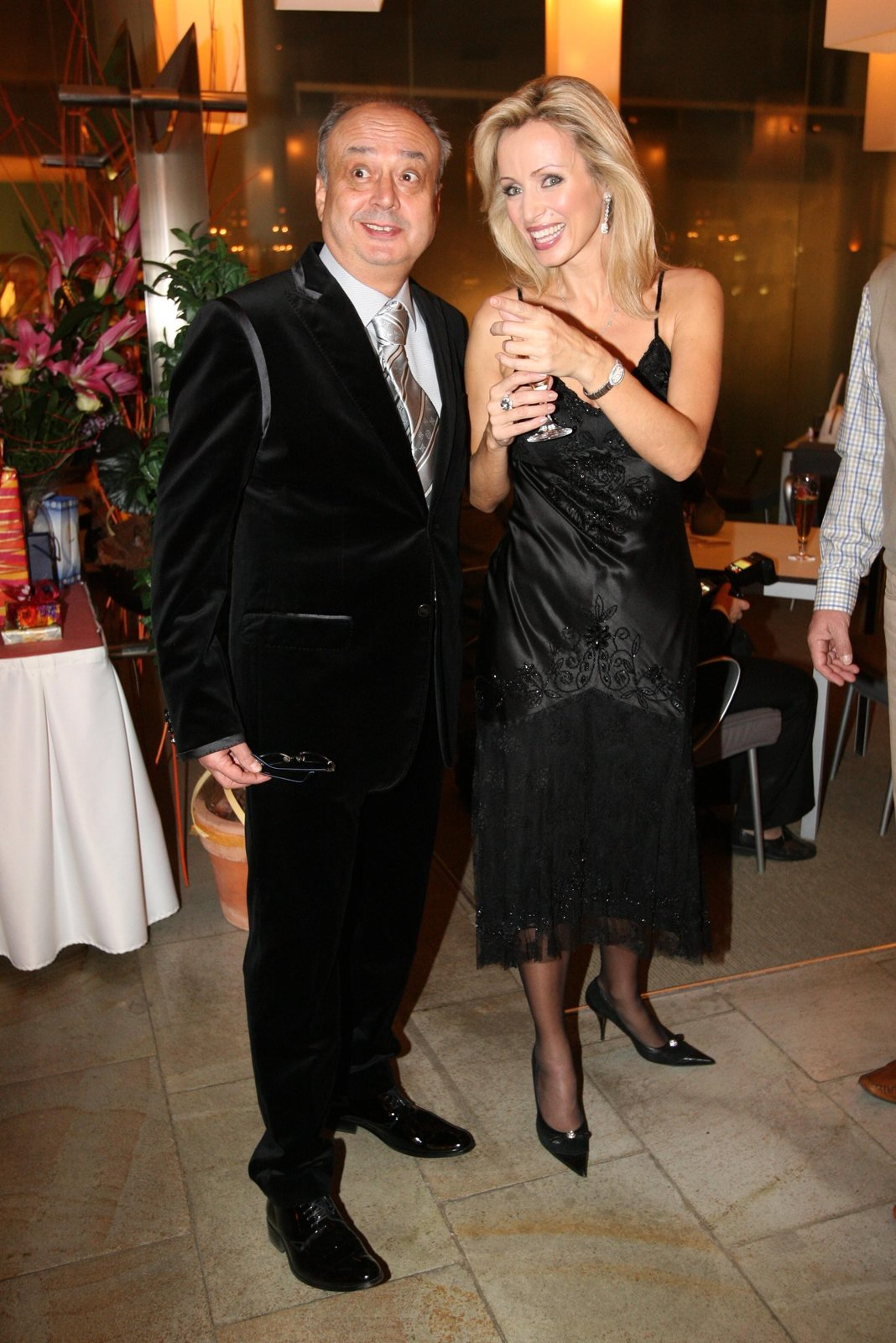 Zesnulý podnikatel a mecenáš Peter Kovarčík v době, kdy žil s Kateřinou Brožovou.