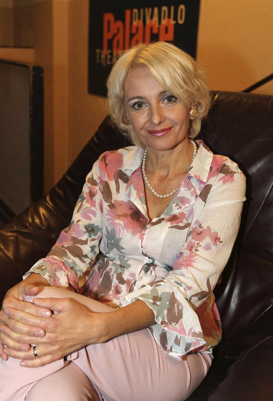 Herečka Veronika Žilková