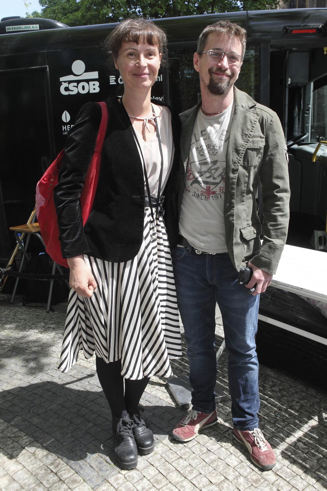 Lenka Vlasáková a Jan Dolanský jsou spolu už třináct let.