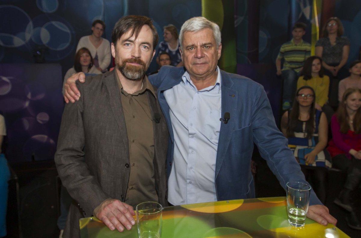 Petr Štěpánek s kolegou Vilémem Udatným.