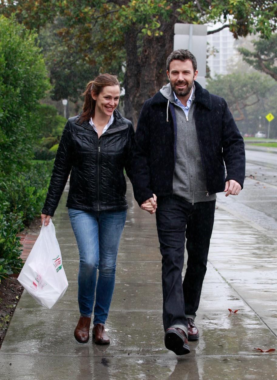 Ben Affleck s bývalou manželkou Jennifer Garner