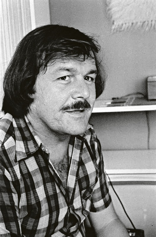 1978 - Tak Karel Šíp vypadal, když začal poprvé točit s Jiřím Adamcem.