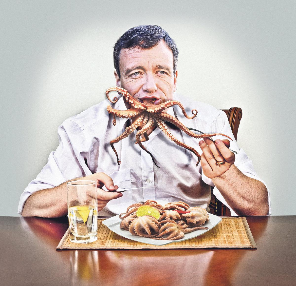 Já a šéfovat korupční chobotnici? To zase někdo blbě přepsal odposlechy. Já chobotnici jím!