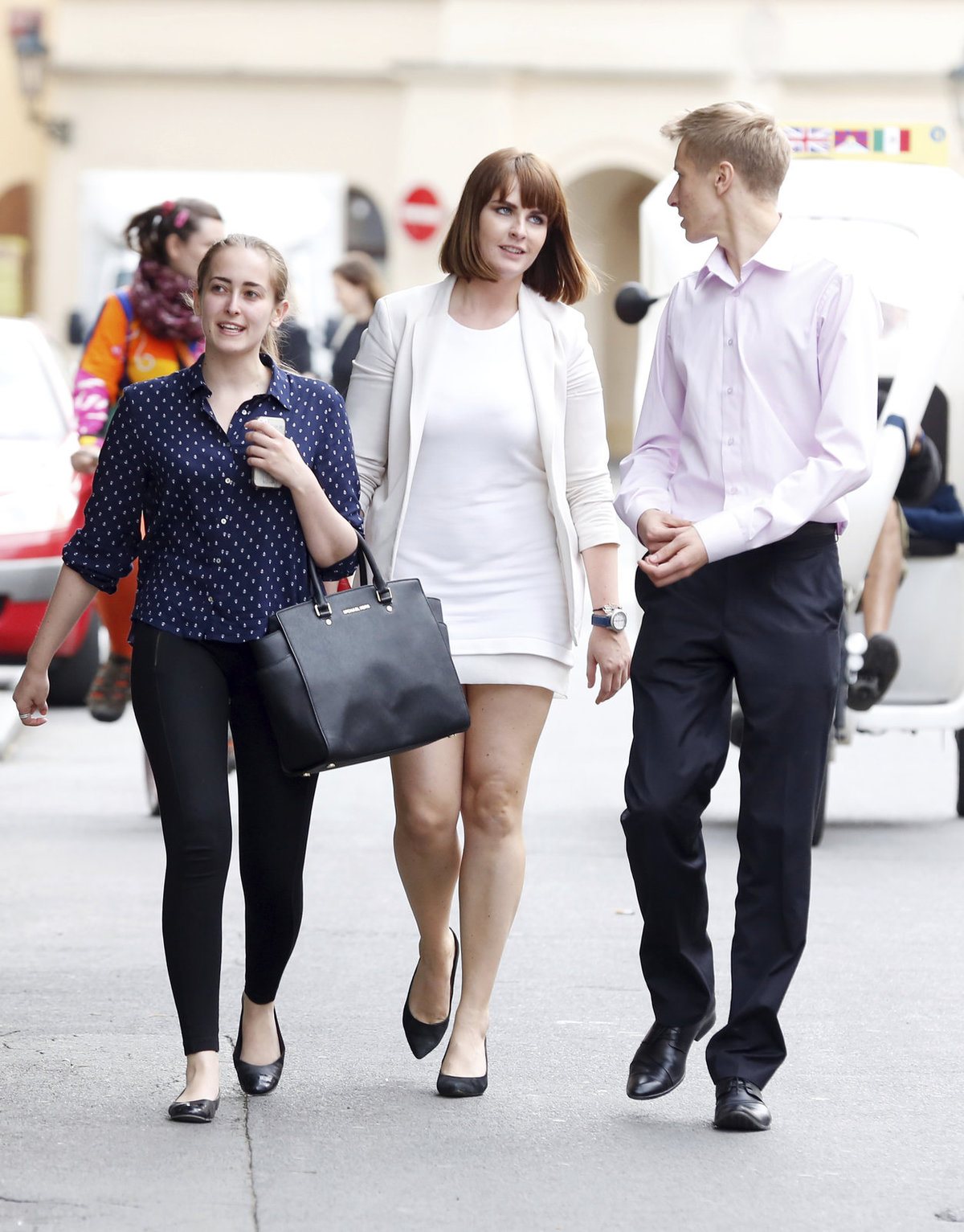 Kate v období maturity v červnu 2014.