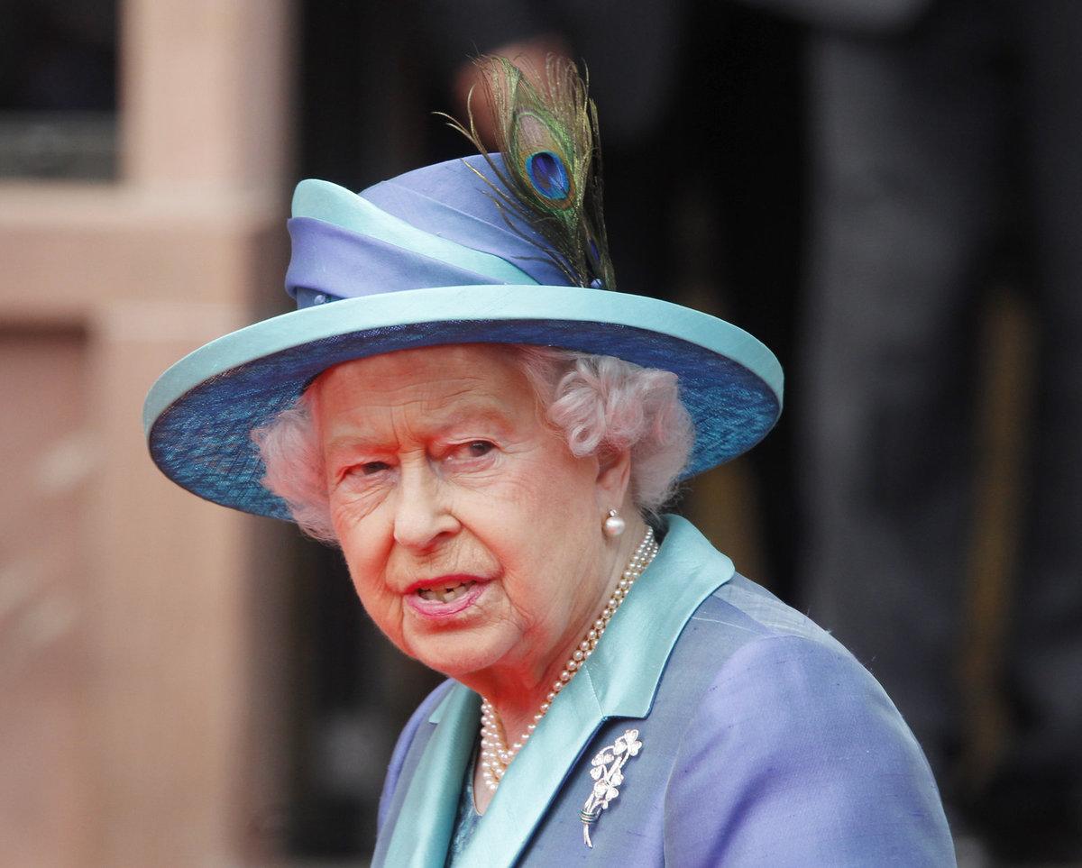 Královna Alžbětu II.