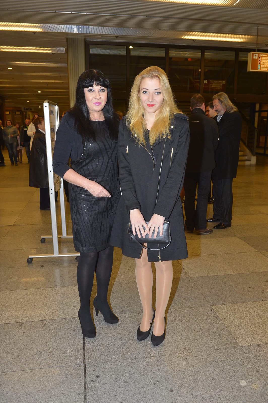 Dáda s dcerou Aničkou Slováčkovou.
