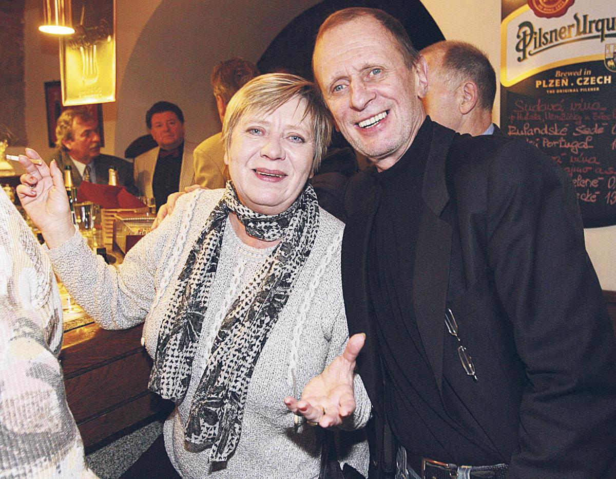 Michal Pavlata a Jaroslava Obermaierová.