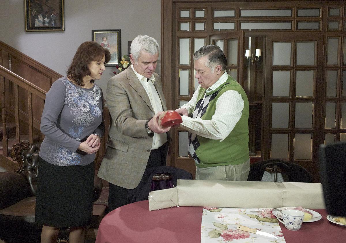 Zlata Adamovská, Petr Štěpánek a Vlastimil Zavřel v seriálu Ordinace v růžové zahradě 2.