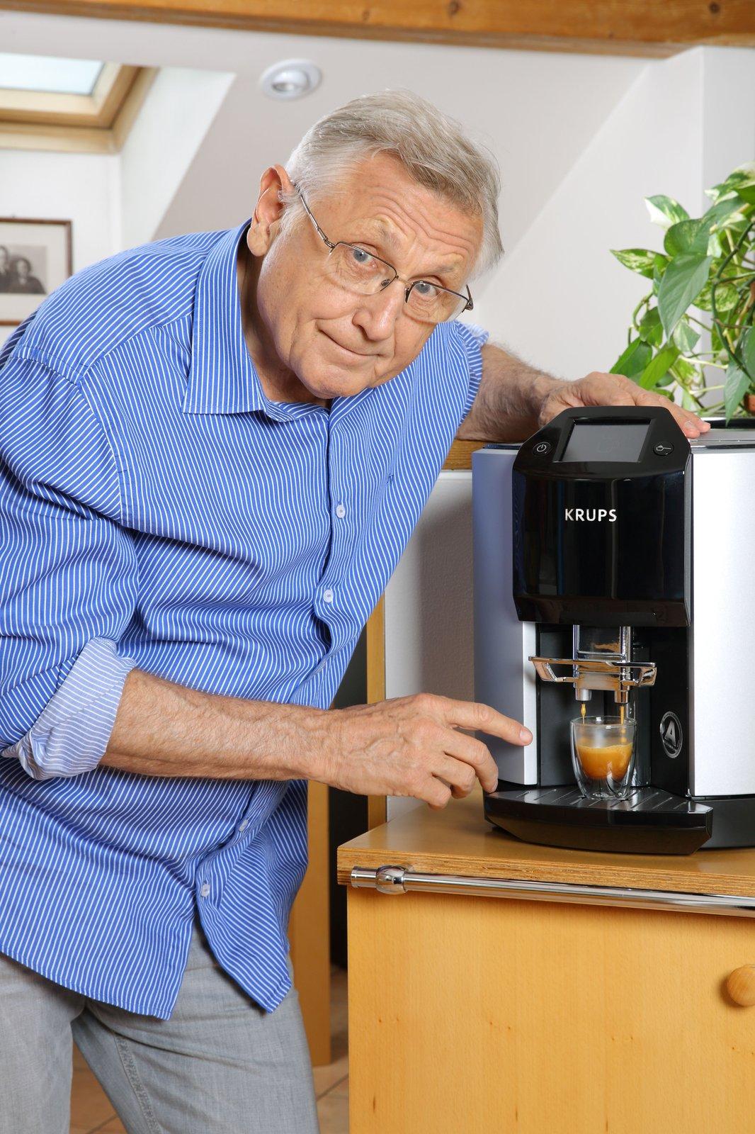 Jirka bez kávy nedokáže žít