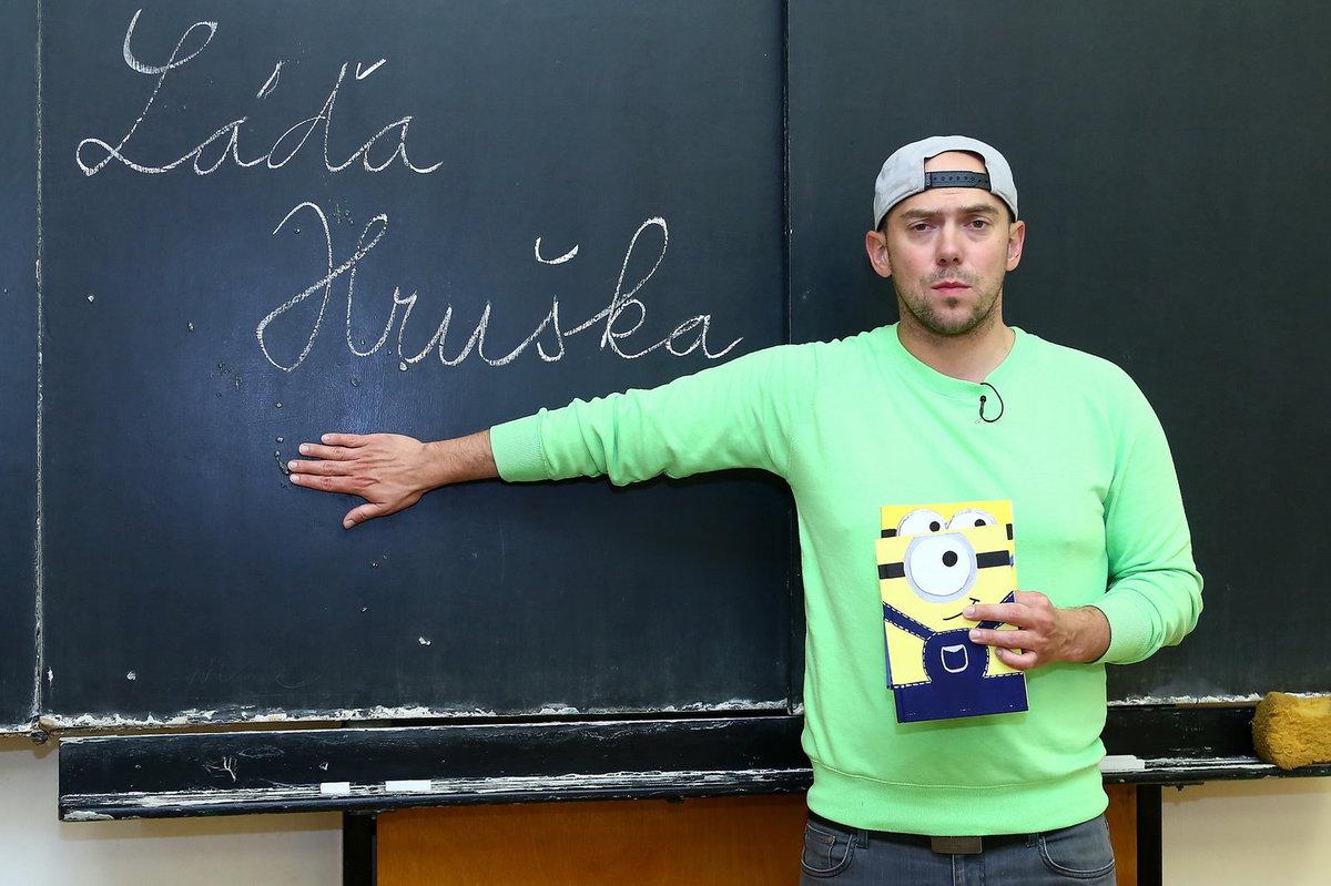 Láďa Hruška má svůj nový pořad