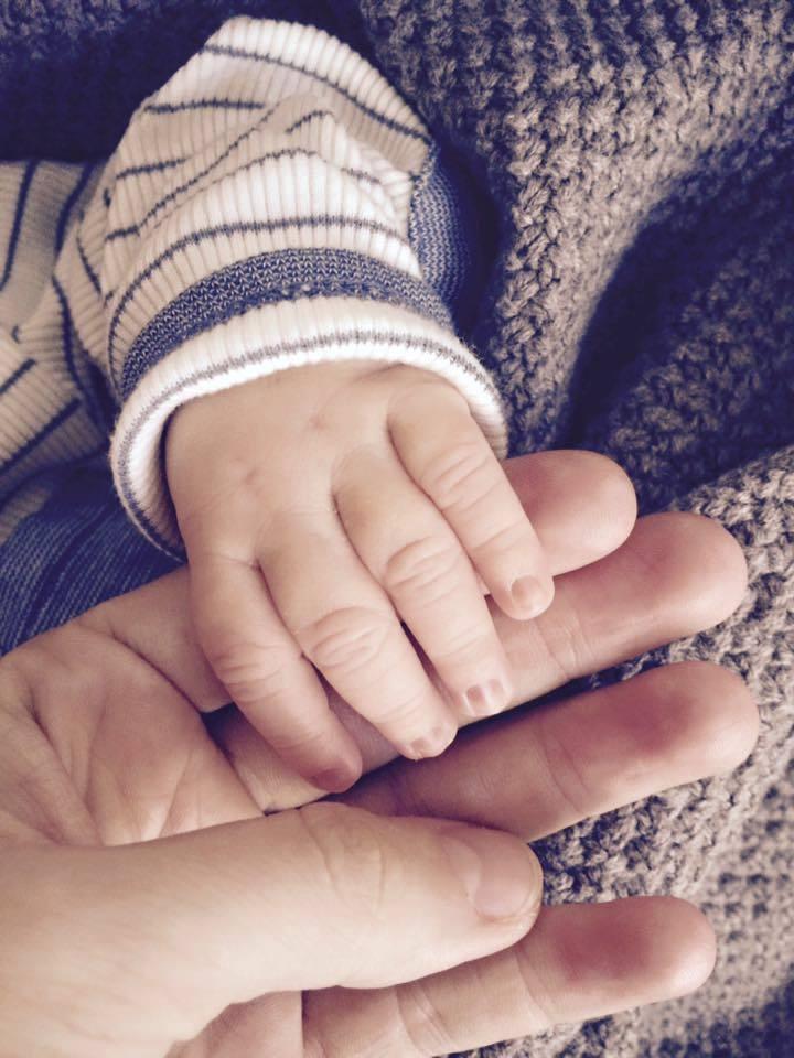 """""""We are family,"""" (My jsme rodina) - okomentovala fotku pyšná maminka Veronika Hejlíková"""