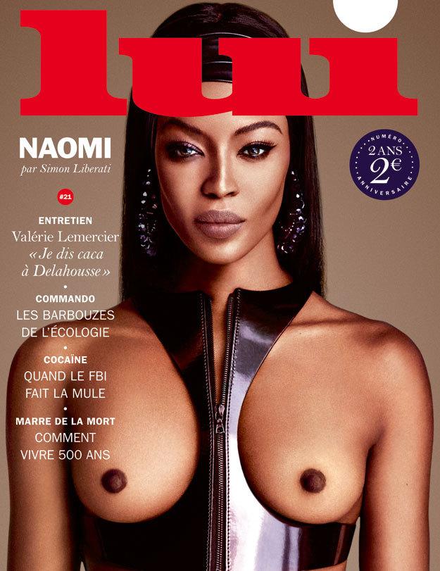 Akty Campbell nafotila pro pánský magazín Lui.