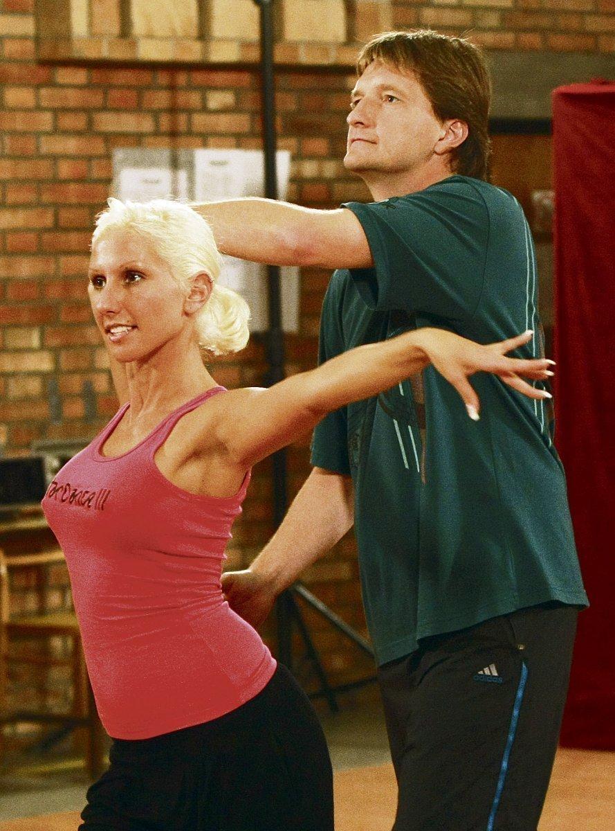 Jaromír Bosák se svou taneční partnerkou Evou Krejčíkovou