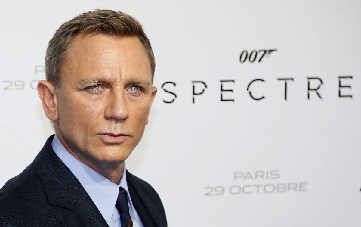 Daniel Craig v nové bondovce Spectre.