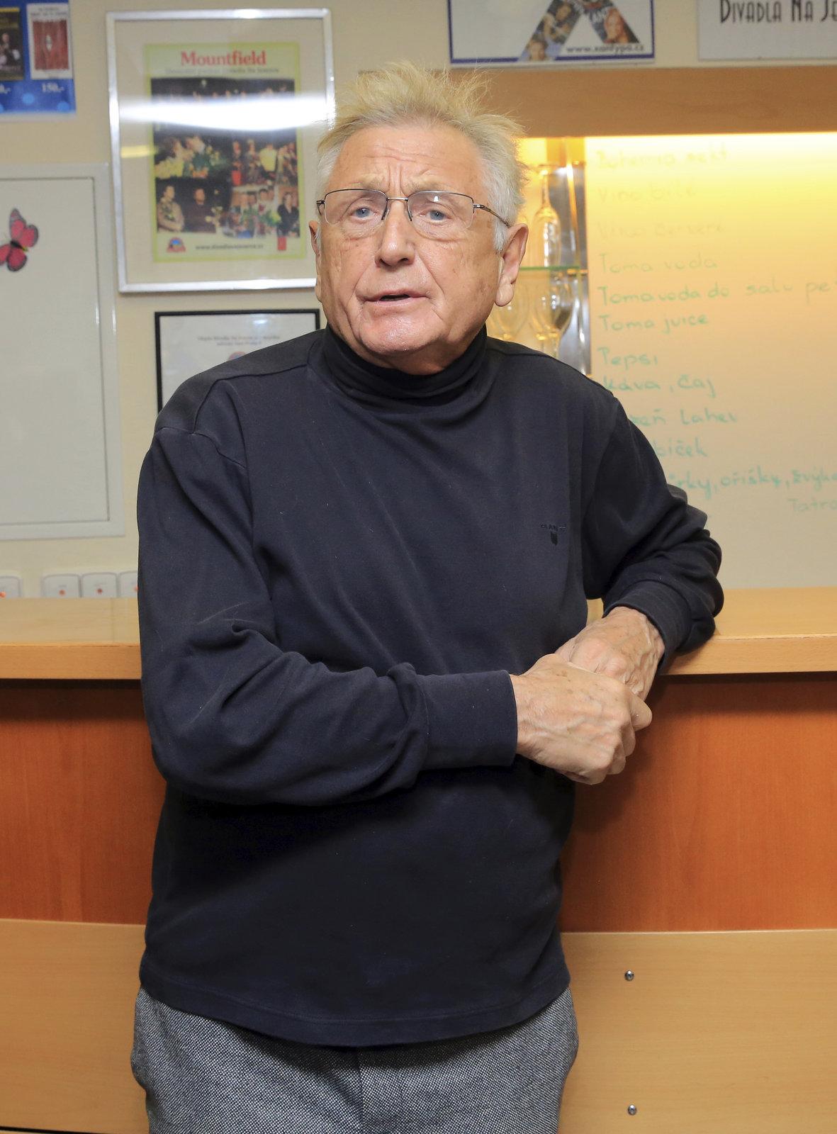 Oscarový režisér Jiří Menzel