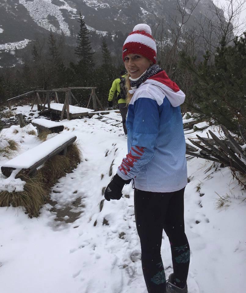 Dominika Cibulková během přípravy ve Vysokých Tatrách