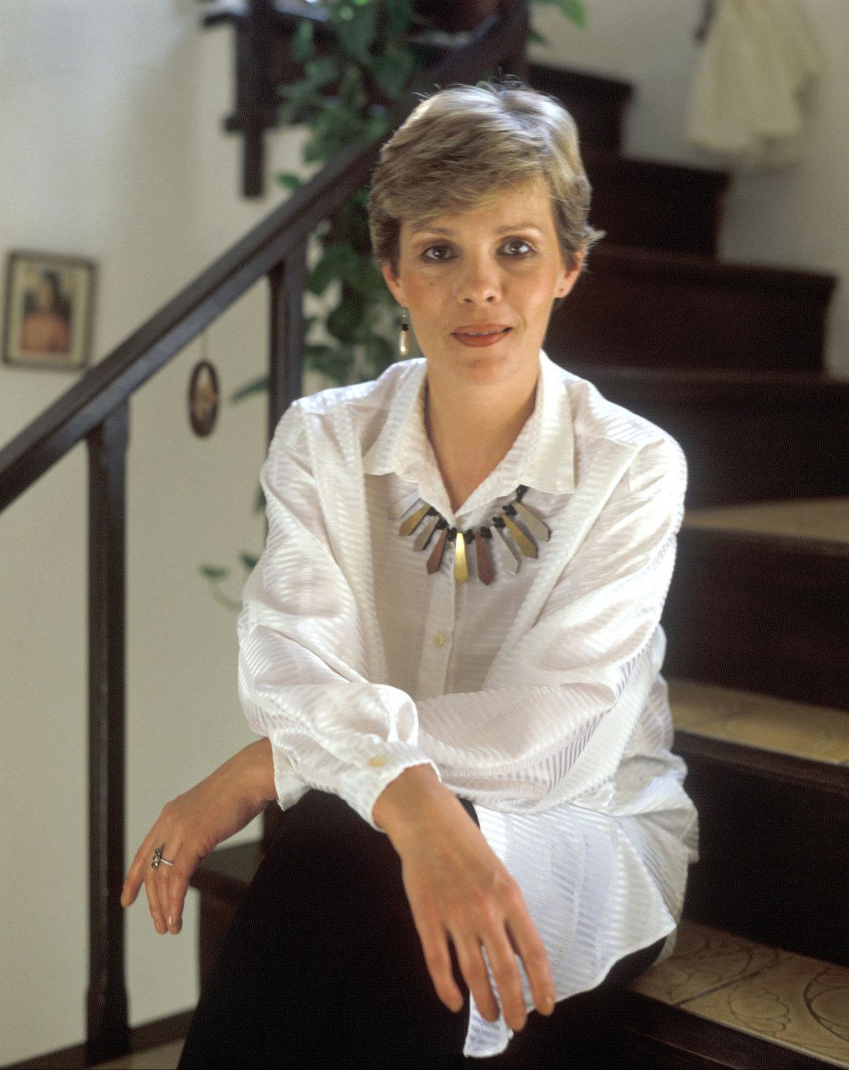 1982 Jana v době, když natáčela komedii století