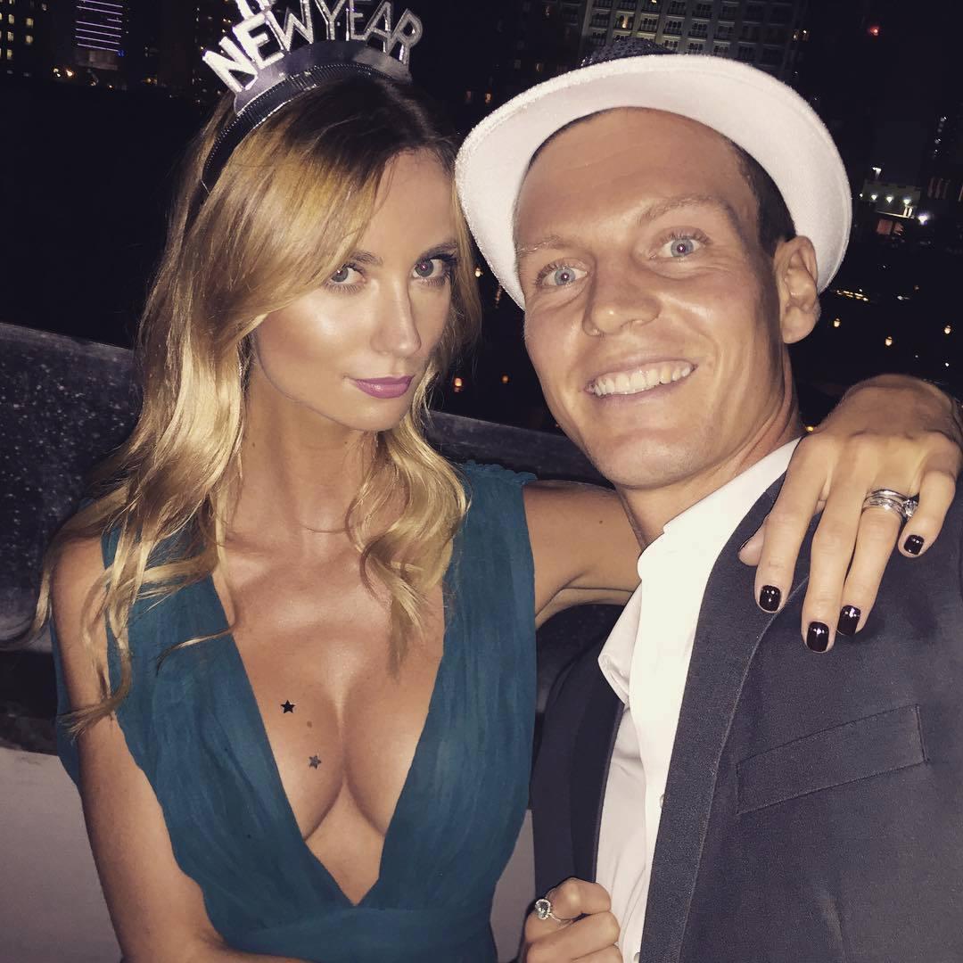 Manželé Berdychovi si vybrali pro novoroční oslavy Katar.