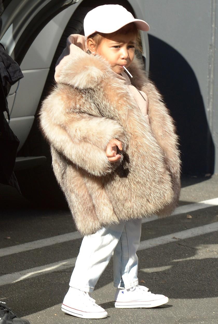 Dcera Kim a Kanyeho North West