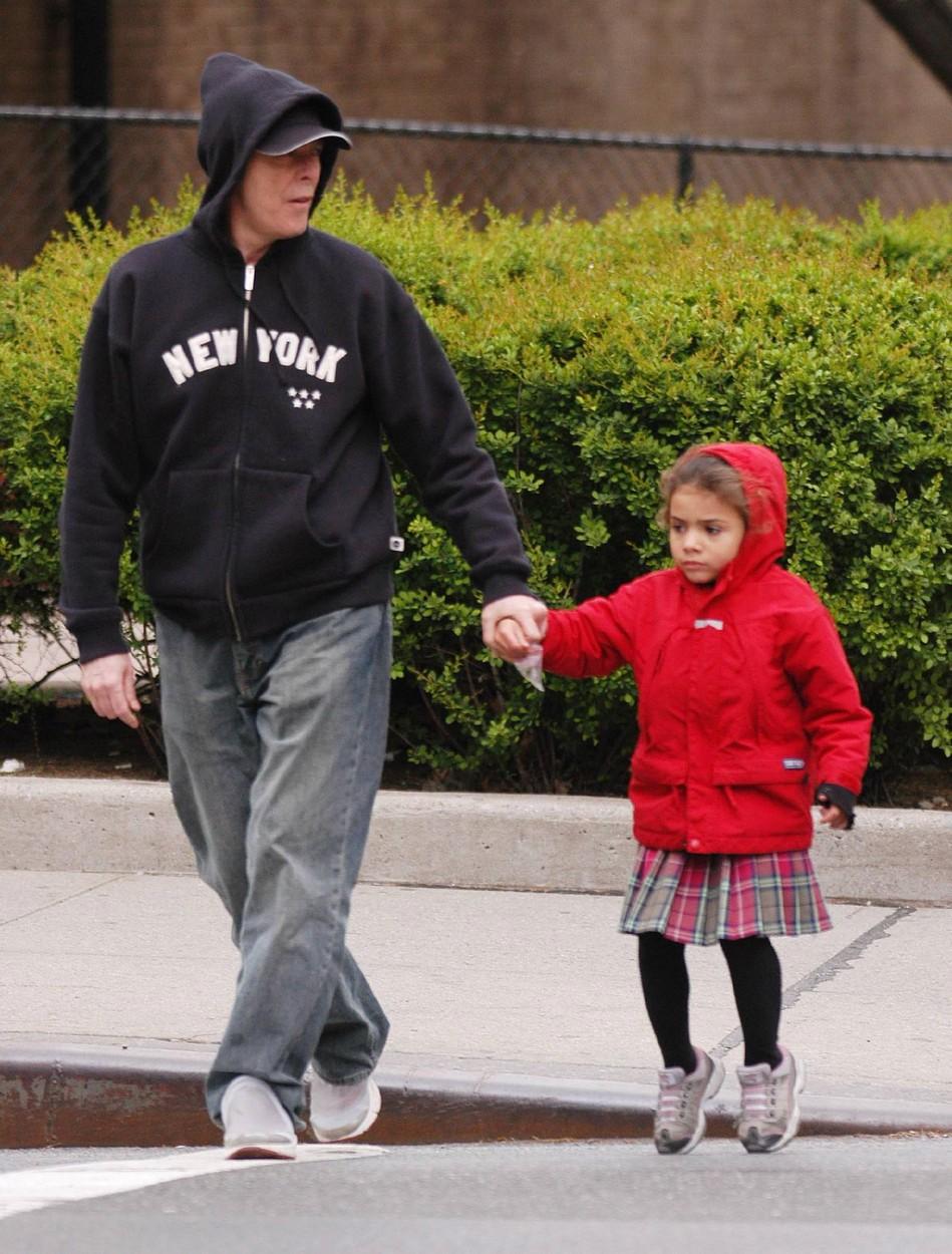 David Bowie s dcerkou Alexandrií, která mu změnila život.