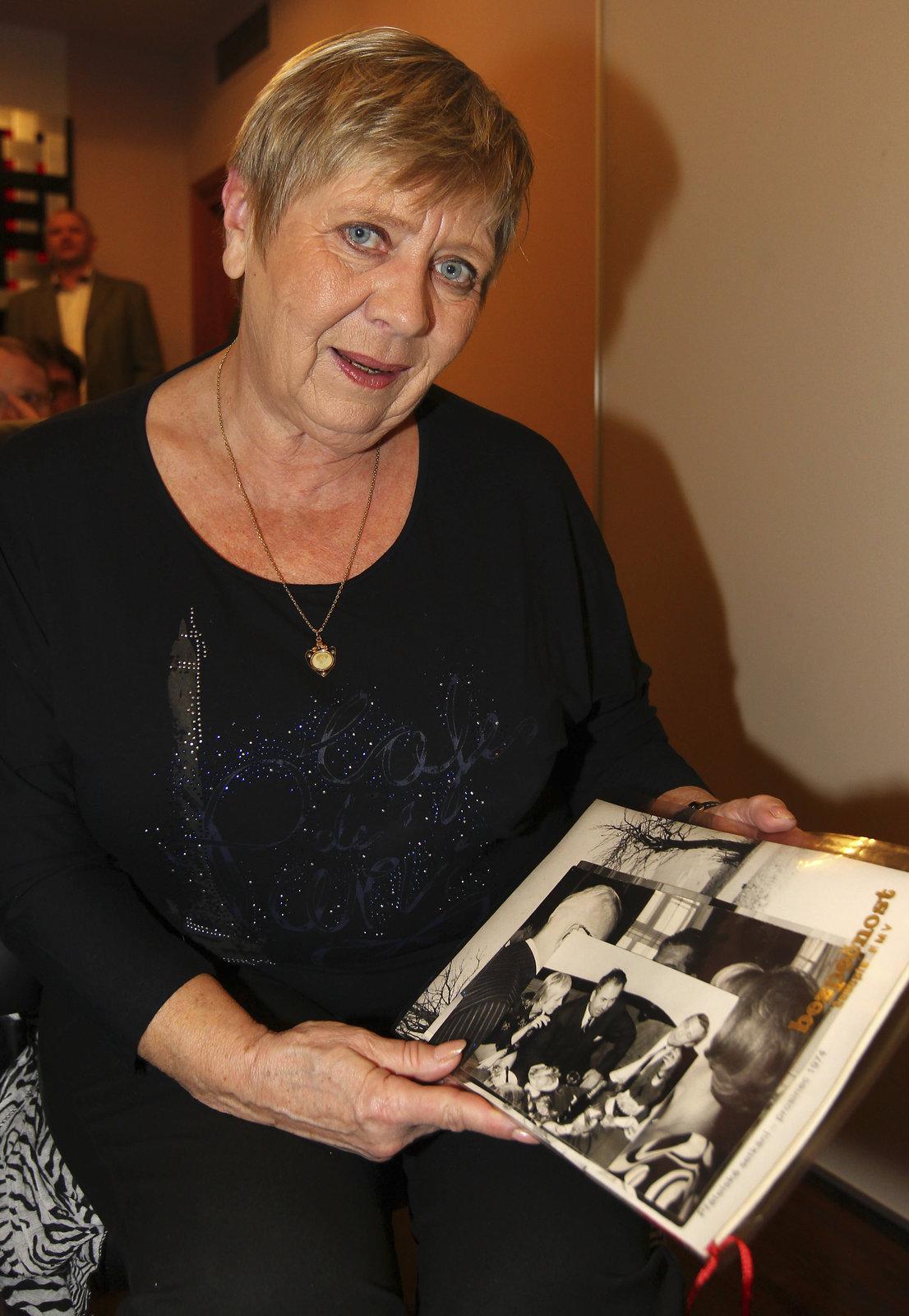 Herečka Jaroslava Obermaierová