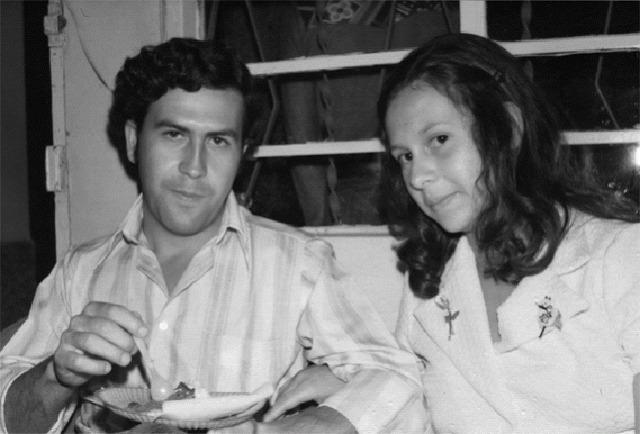Fotografie z rodinného alba drogového bosse Pabla Escobara