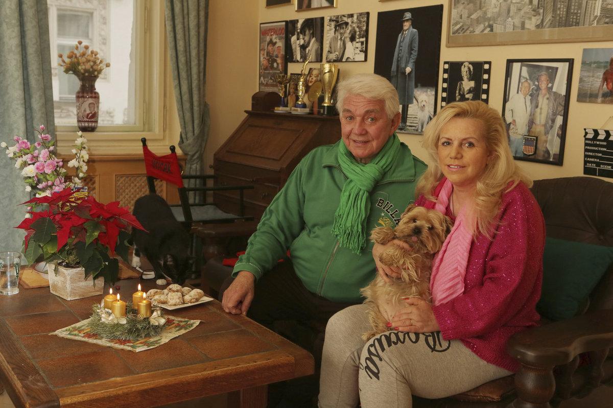 Manželé Jiří a Hanka Krampolovi