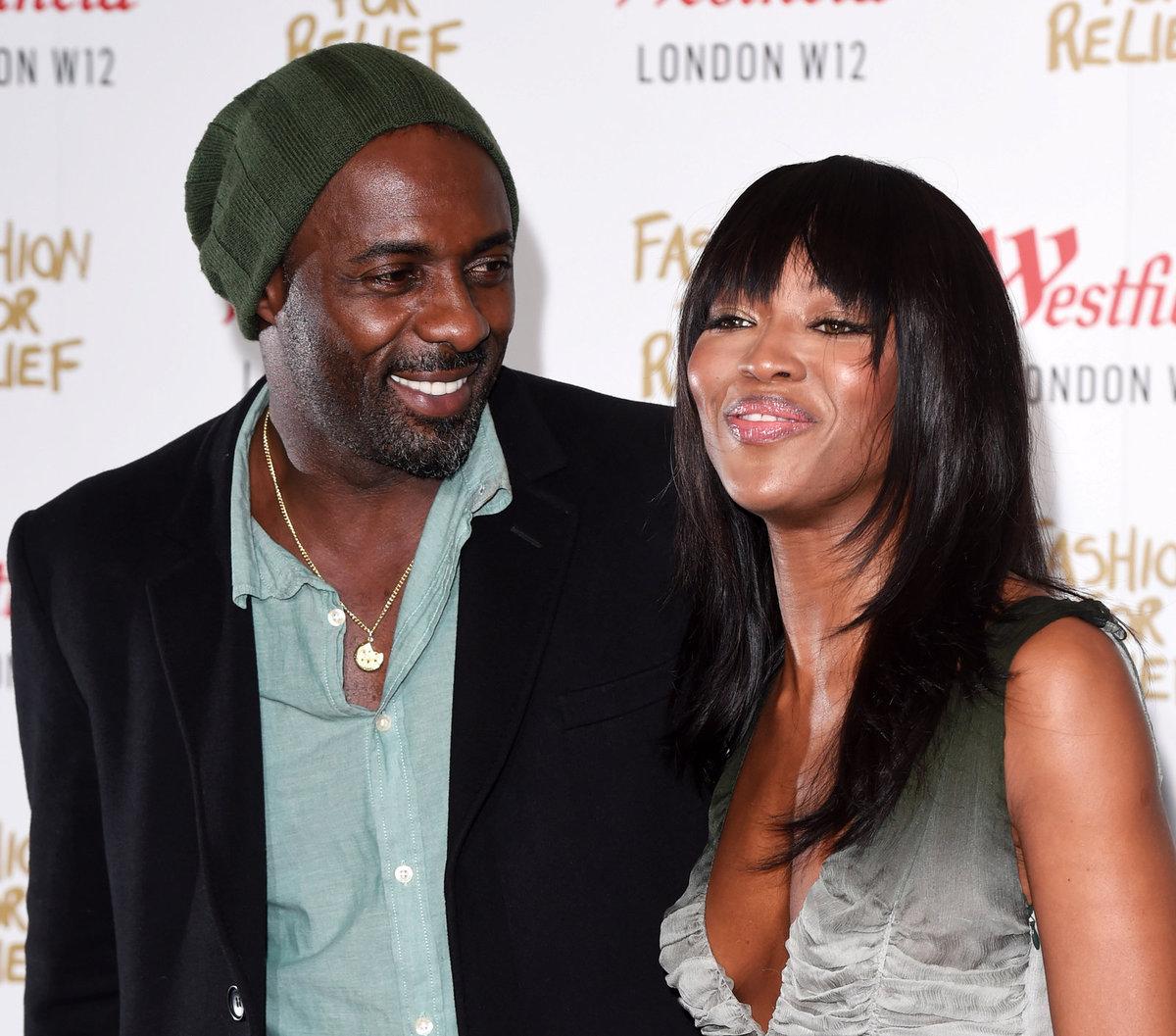 2014 - Naomi Campbell a Idris Elba. Jiskřilo to mezi nimi už dávno.