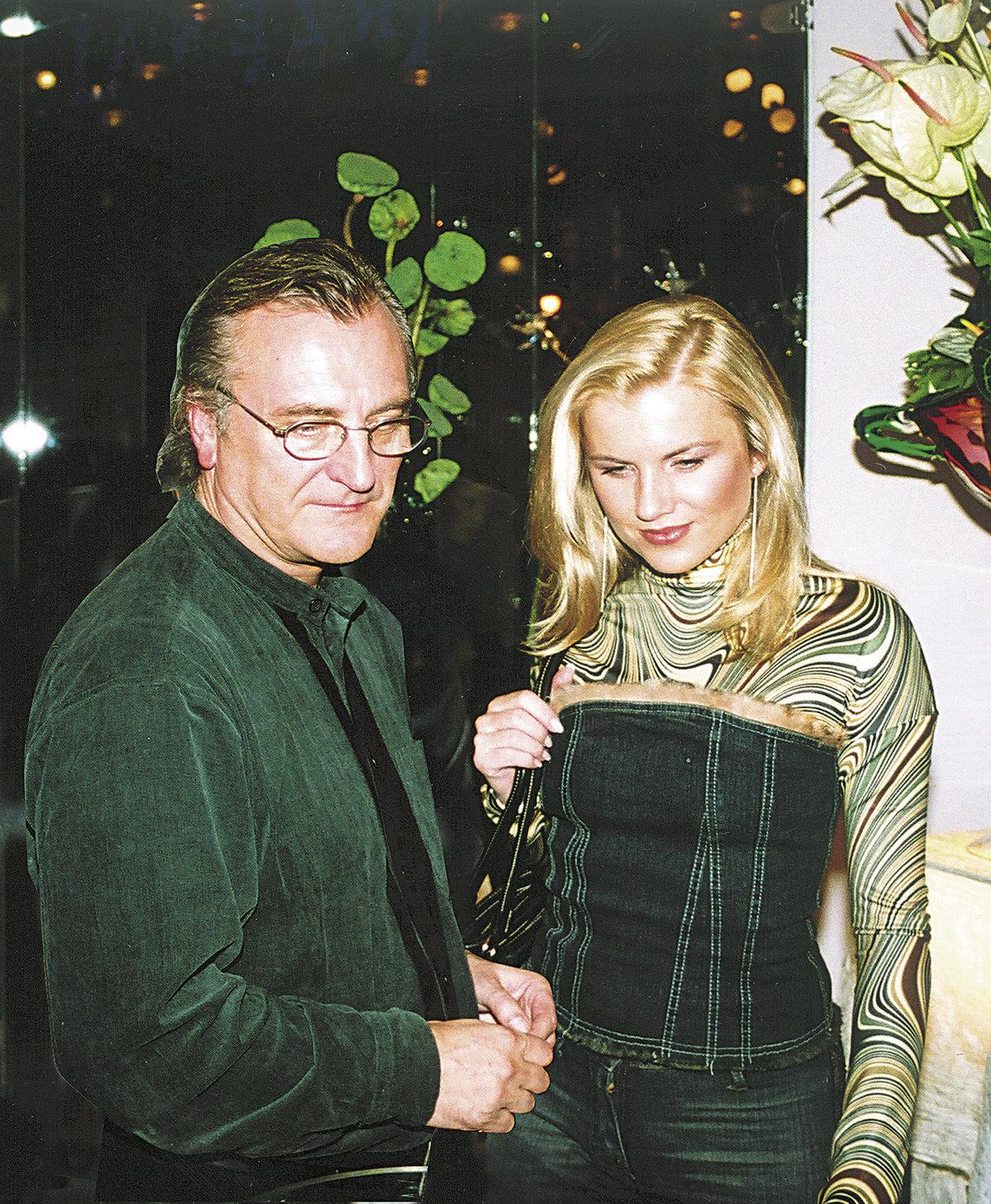 Bořek Šípek a Leona Machálková.