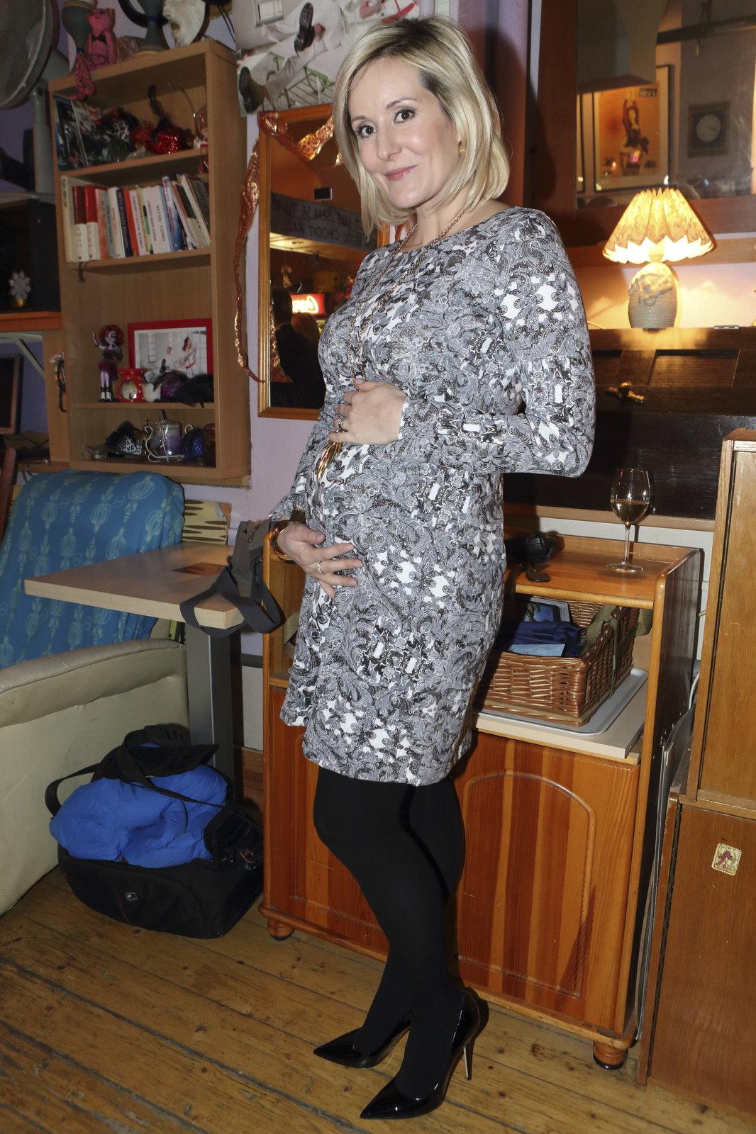Jovanka Vojtková je v pátém měsíci těhotenství.