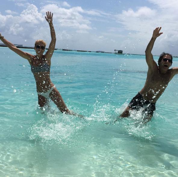 Daniela s Pavolem řádí na Maledivách
