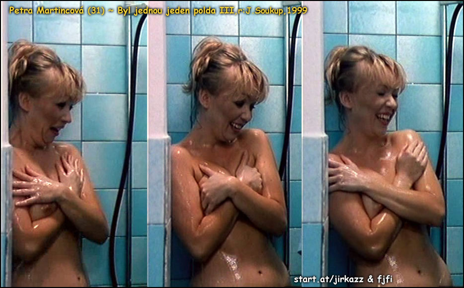 1999 - Proslulá sprchovací scéna z filmu Byl jednou jeden polda III.