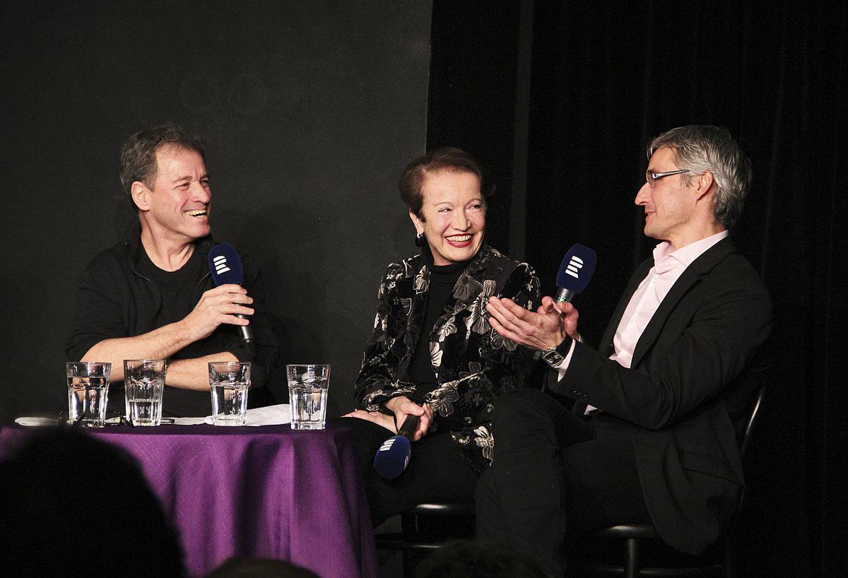 Maciuchová začátkem února natáčela v Divadle Ungelt. Hostem Milana Heina byl i MUDr. Roman Kufa.