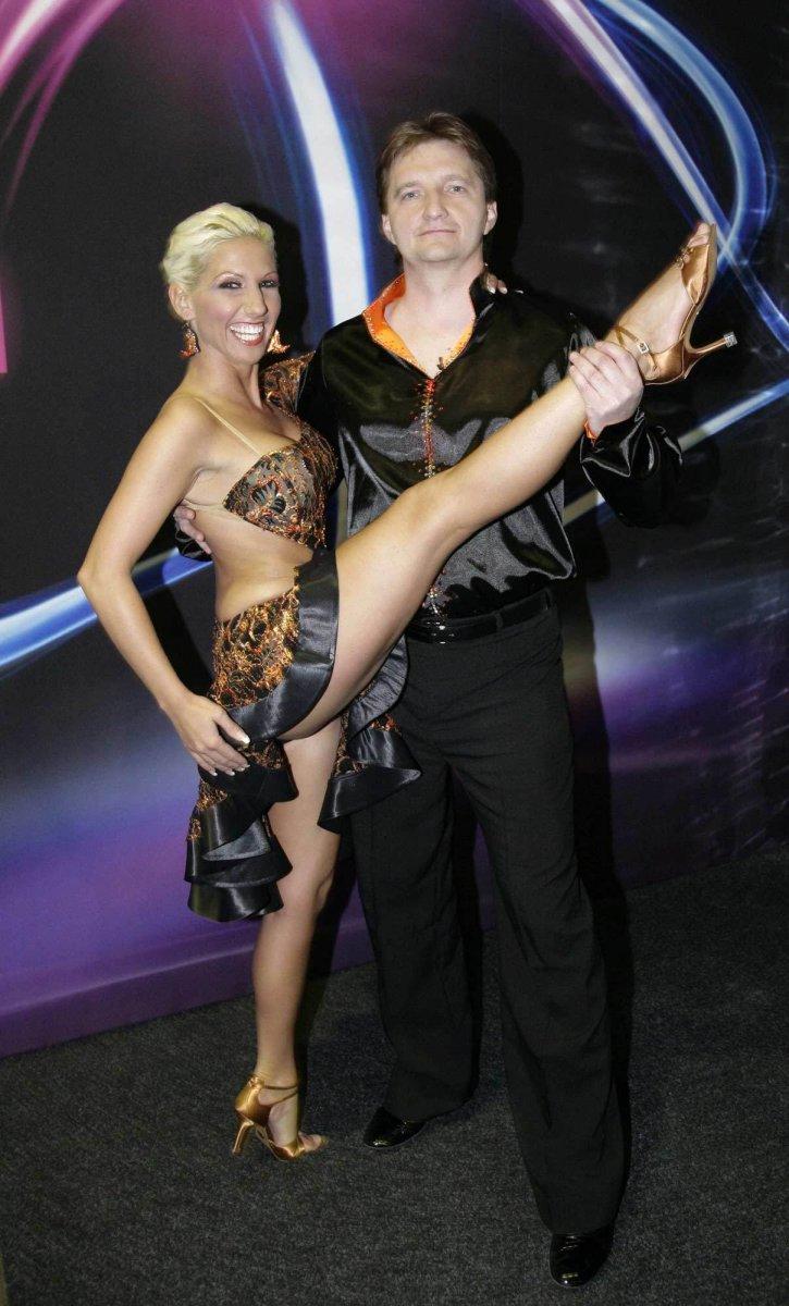 S taneční partnerkou Evou Krejčířovou.