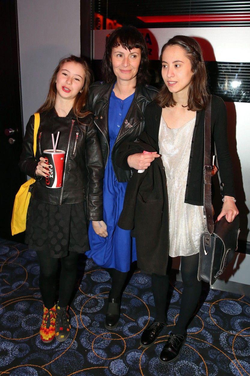 Lenka její dcery Amélie (vlevo) a Sofie