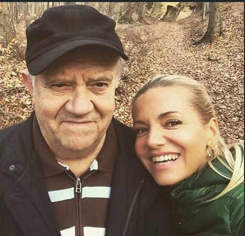 Dara Rolins s tatínkem.