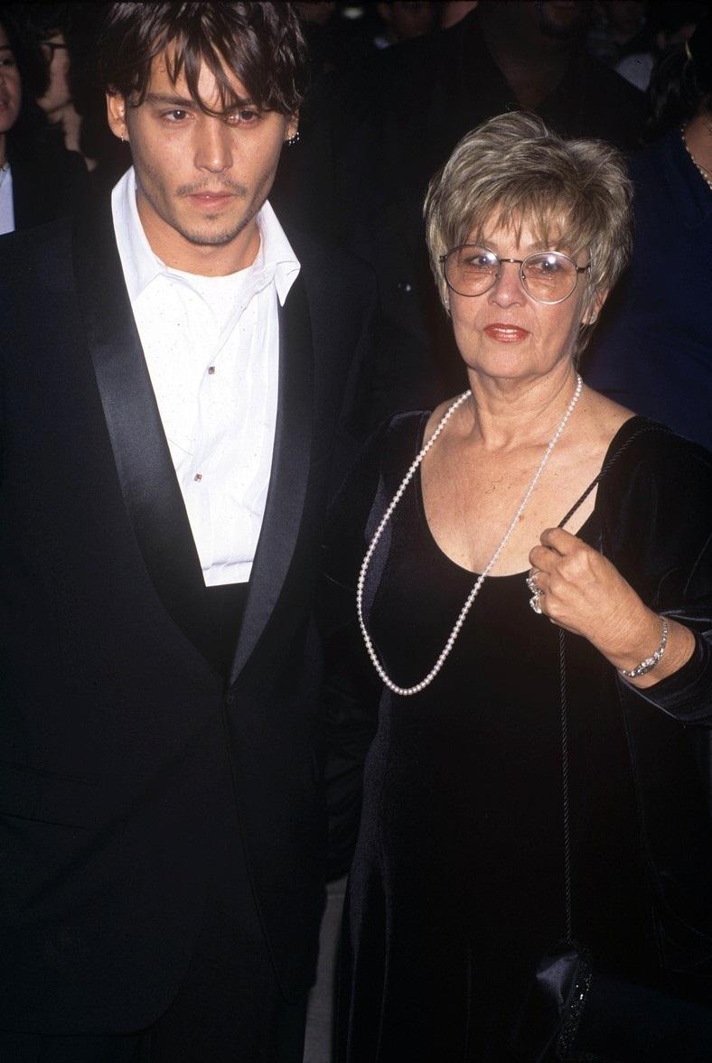 Depp s maminkou Betty Sue Palmer