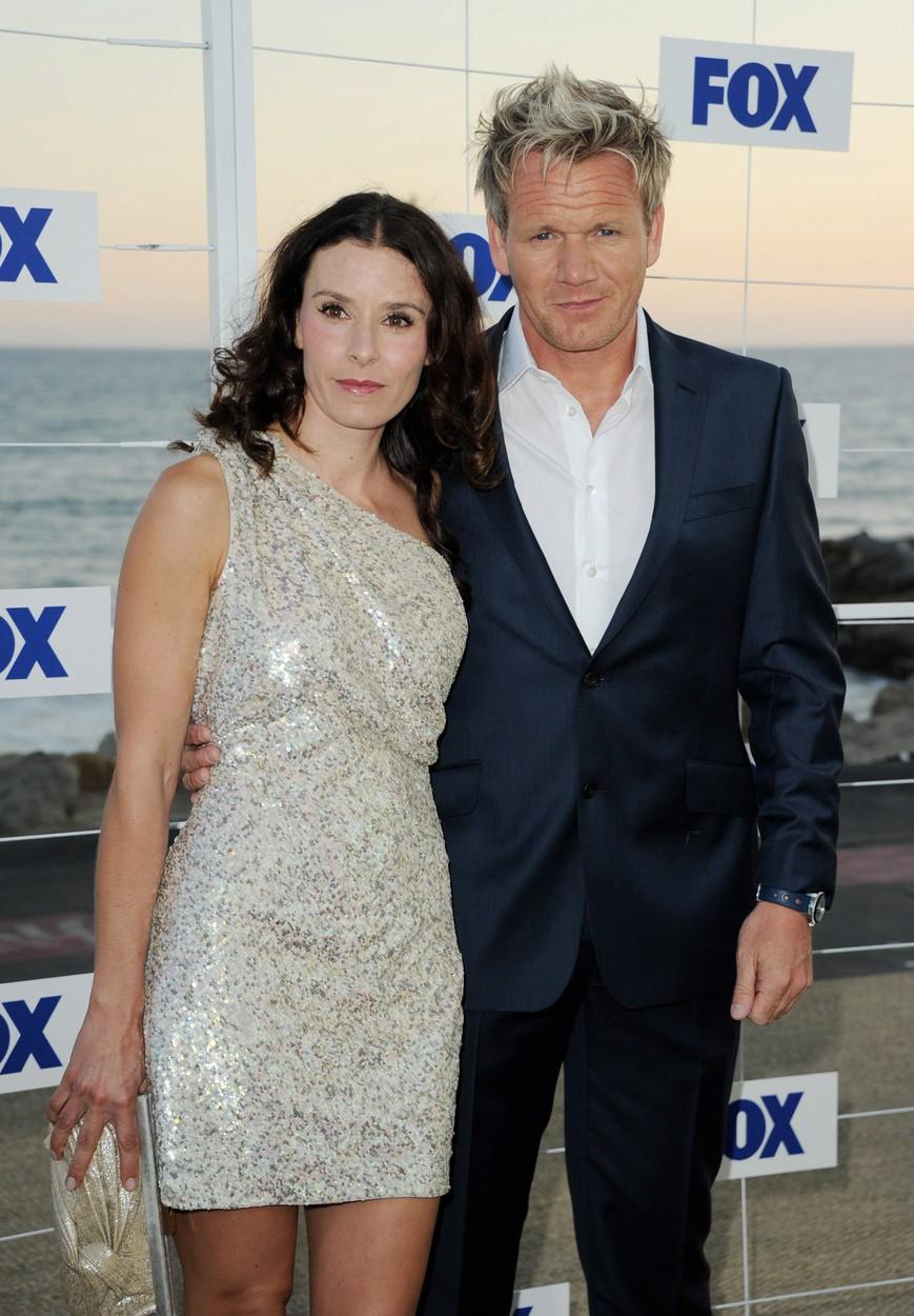 Gordon Ramsay s manželkou Tanou.