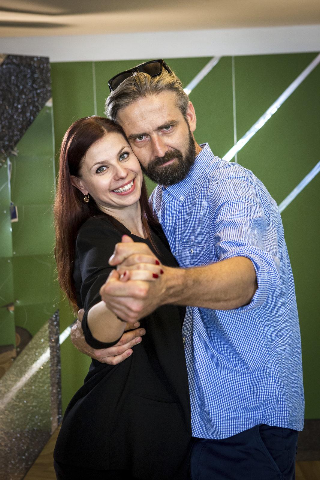 Roman Zach a Andrea Třeštikova
