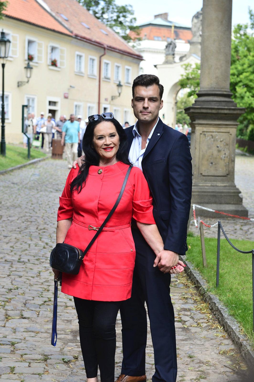 Hana Gregorová a její přítel Ondřej Koptík.