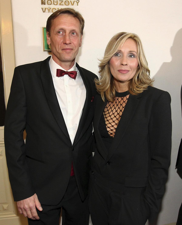 Tereza Pergnerová s Jiřím Chlebečkem