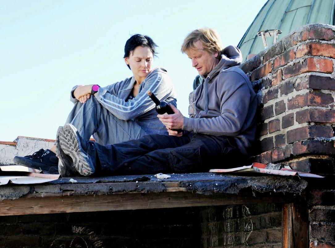 Gabrieal Mikulková s Matějem Hádkem ve filmu Posel
