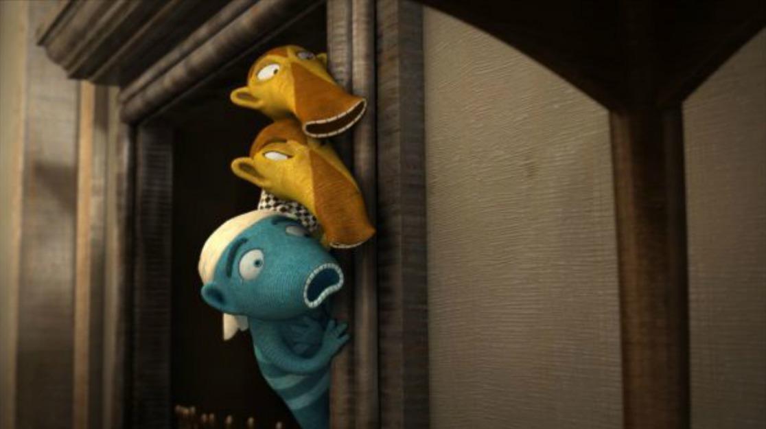 Lichožrouti - modrého Hihlíka namluví Kryštof Hádek.