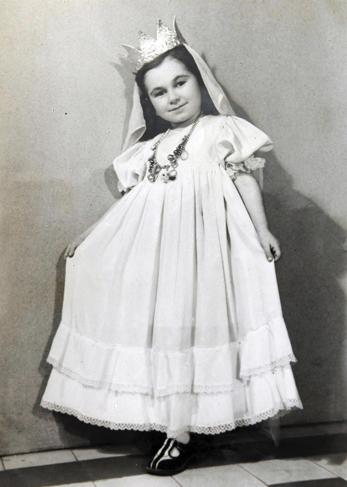 V dětství si ráda hrála na princezny.