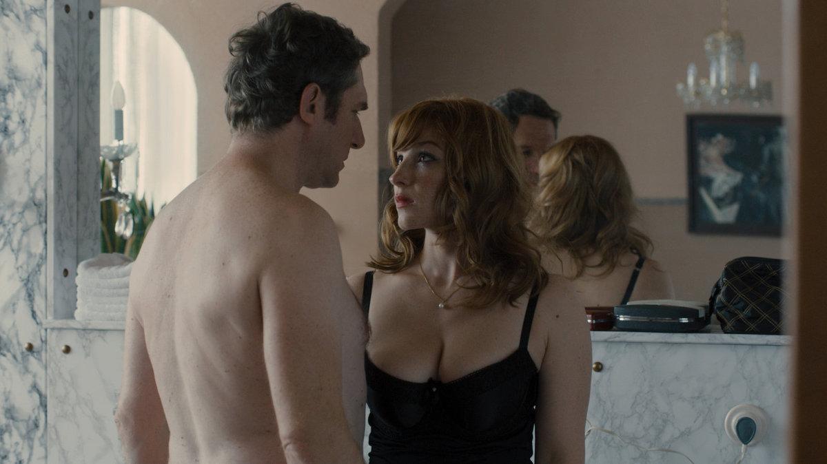 Vica se svým rakouským filmovým milencem Johannesem.