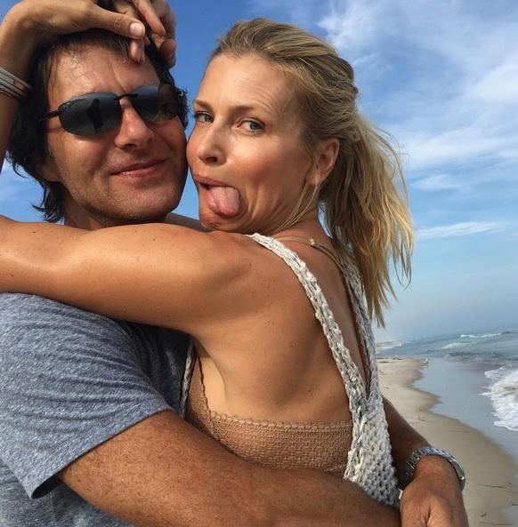 Daniela se svým mužem Pal´em