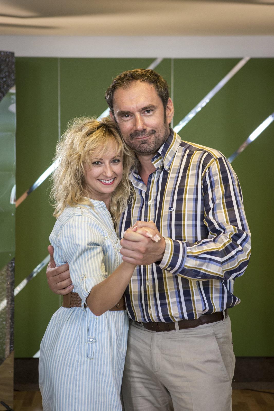 Emanuele Ridi bude ve StarDance tančit s Lucií Hunčákovou