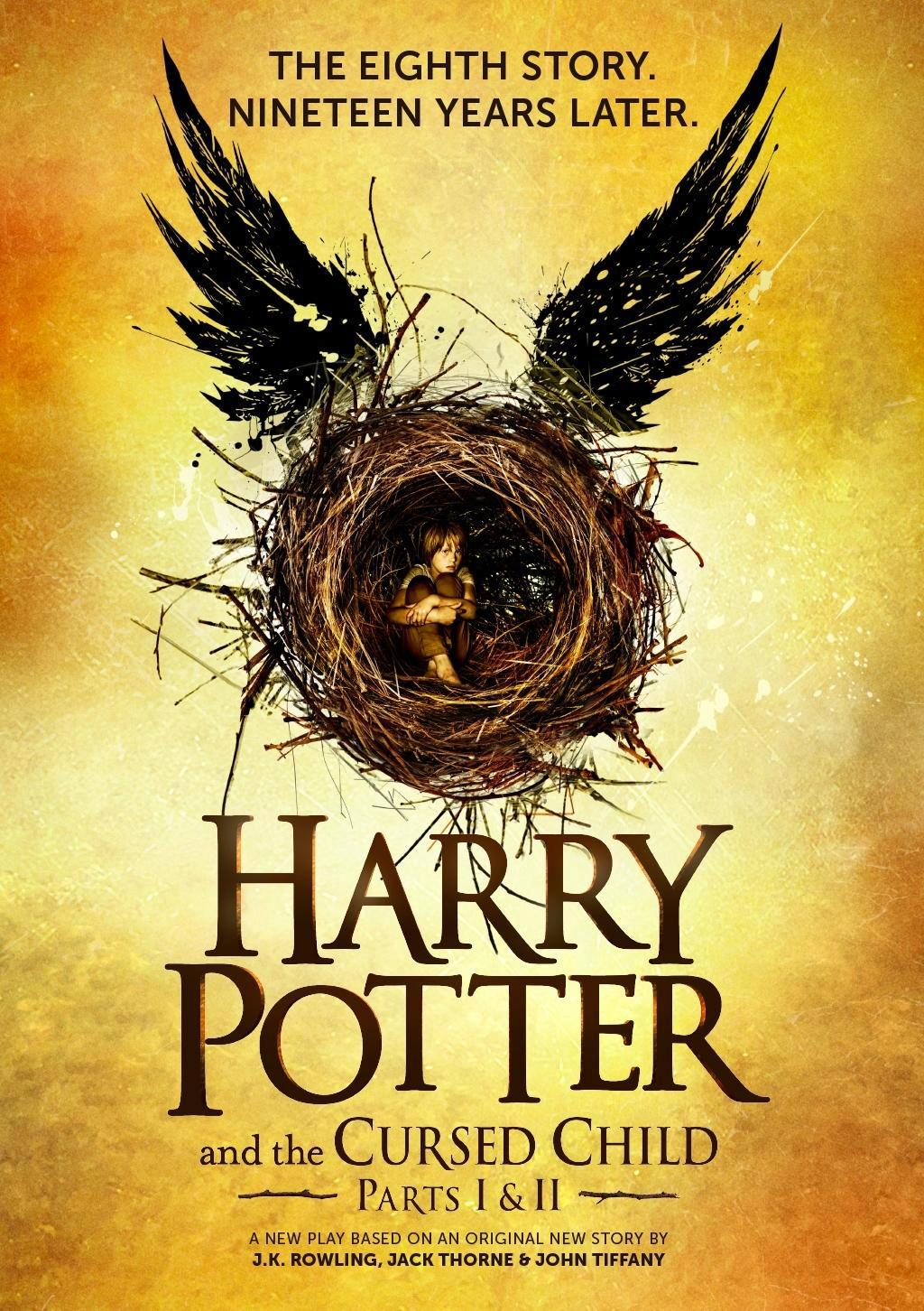 J.K. Rowling, Harry Potter and cursed child, Little Brown, 579 Kč
